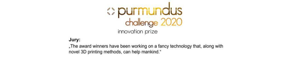 Purmundus Challenge innovation prize 2020
